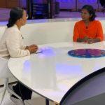 Samtal om textilindustri med Alice Bah Kunhnke