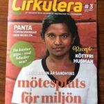 Intervju med Sandhya om Oria i tidningen Cirkulera